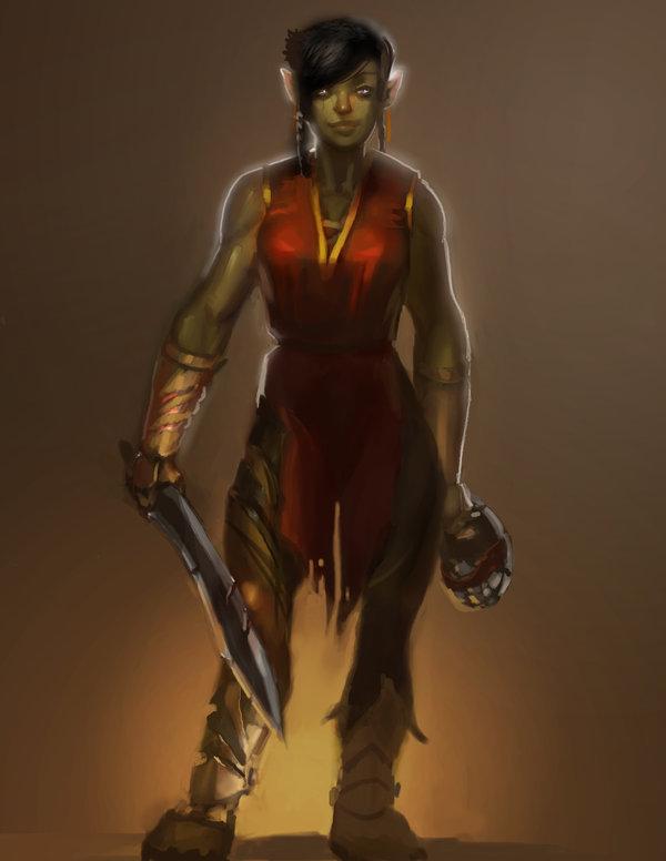 Anya Sunfall Bloodfist