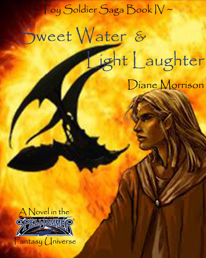 """Sweet Water & Light Laughter"" Book Cover"